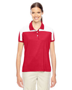 Team 365 Ladies' Victor Performance Polo - Sport Red