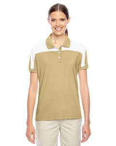 Team 365 Ladies' Victor Performance Polo - Sport Vegas Gold