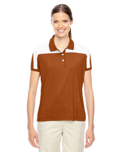 Team 365 Ladies' Victor Performance Polo - Sp Burnt Orange