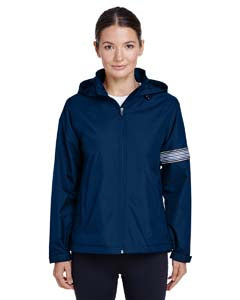 Team 365 Ladies' Boost All-Season Jacket with Fleece Lining - Sport Dark Navy