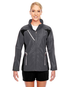 Team 365 Ladies' Dominator Waterproof Jacket - Sport Graphite