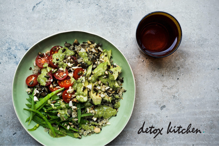 Detox Kitchen: Quinoa & Avocado Salad