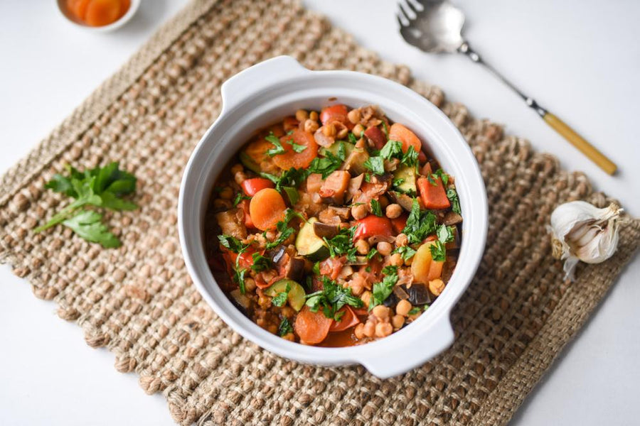 Vegetable Tagine With Quinoa