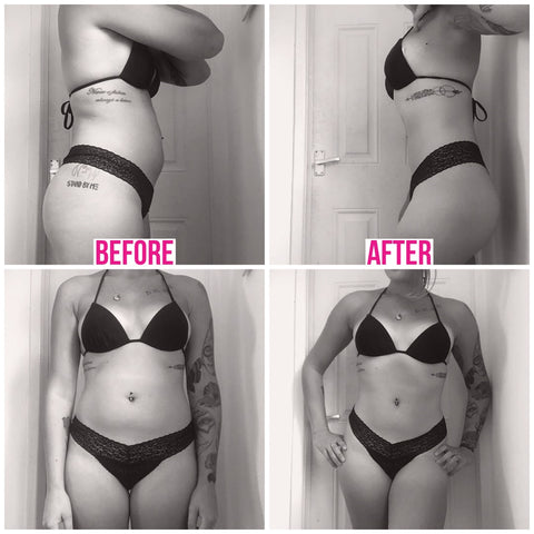 weight loss image before and after product