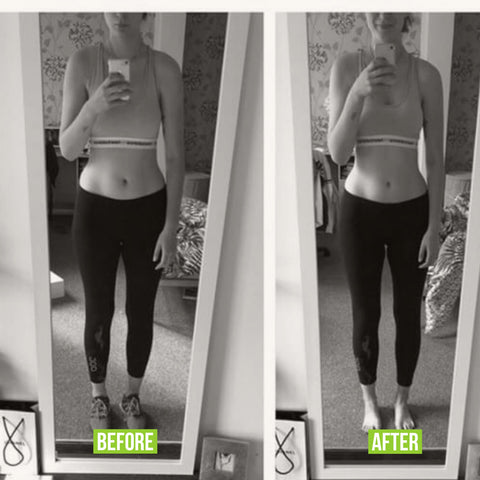 weight loss before and after slimming product