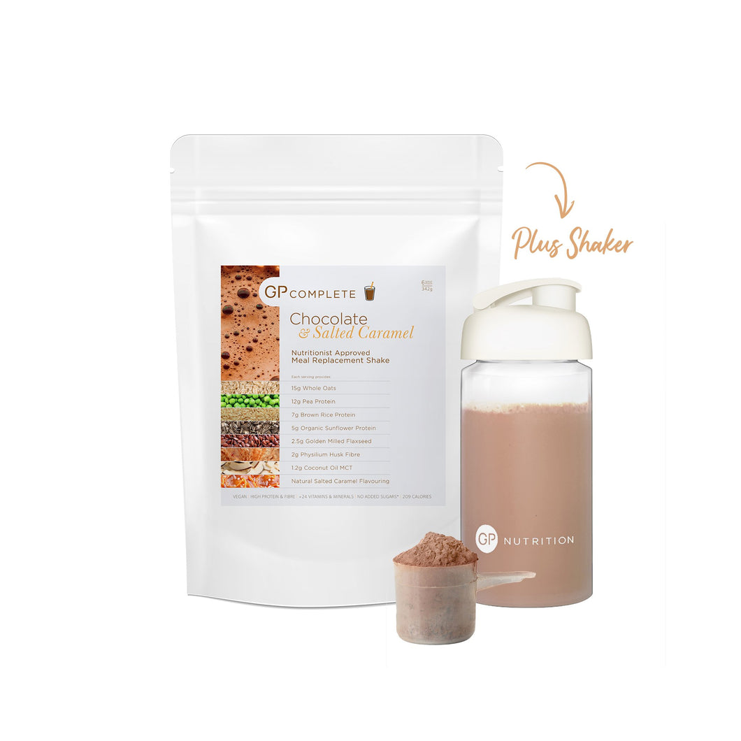 GP Complete: Chocolate & Salted Caramel Shaker Bundle