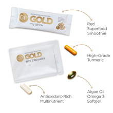 Load image into Gallery viewer, Glow With Gold Giftbox - Supercharge Your Skincare