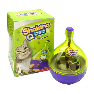 Interactive Toy Dispenser For Cats