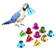 10 Pcs Colored Stainless Steel Bird Wind Chimes Toy