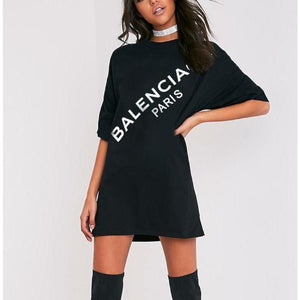 Balenciaga Inspired T-Shirt Dress