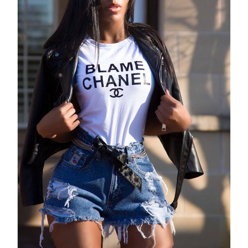 Blame Chanel Ladies Shirt (Various Options)