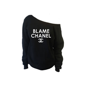 Blame CC Off Shoulder Sweatshirt