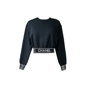Coco Ladies Crop Top (Black)