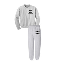 Chanel Chest Style Sweatpant Set (Various Colors)