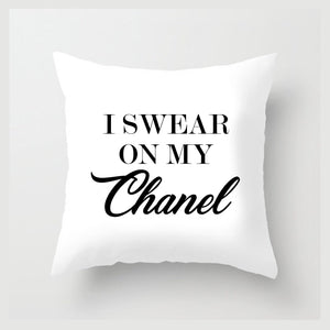 I Swear On CC Pillow (Various Colors)