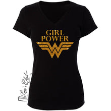 Wonder Woman Girl Power Women's Shirt