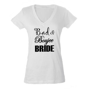Bad & Boujee Bride Shirt