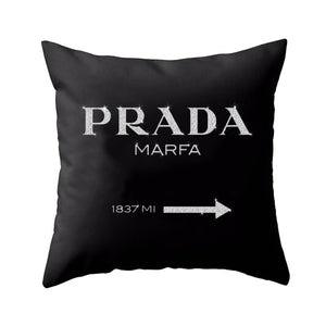 Prada Marfa Pillow (Various Colors)