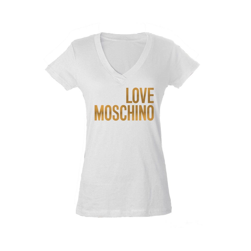 Love Moschino Metallic Womans Shirt