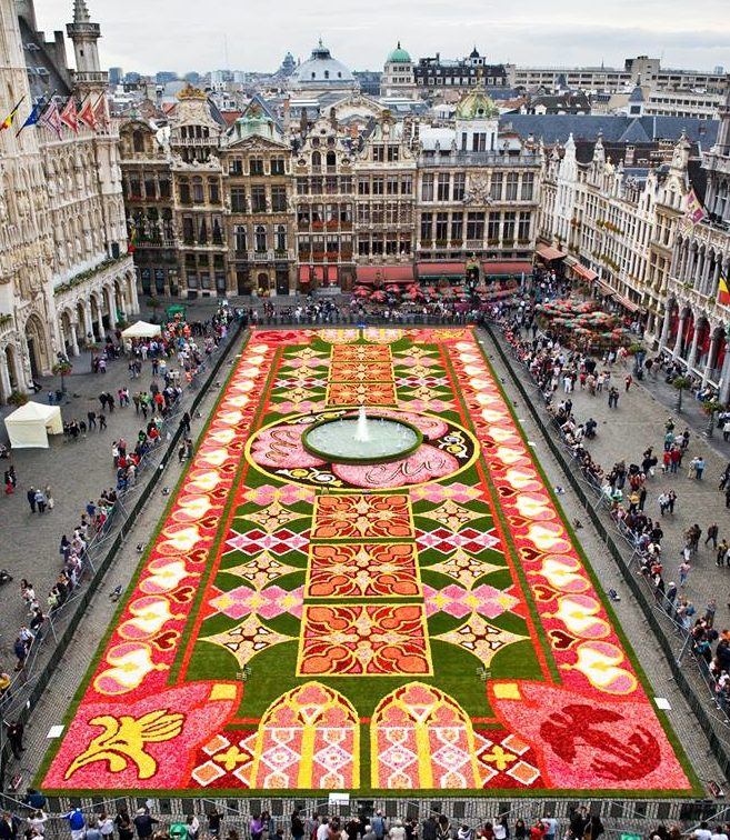 Event: Flowertime, Brussels