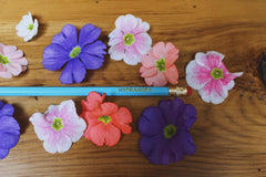 Flower Pencils - Set of 12