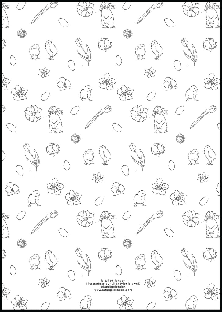 Easter Colouring Sheets - Set of 3