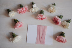 Blush Pink Habotai Silk Ribbon