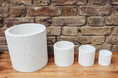 Speckled Concrete Planter - Small