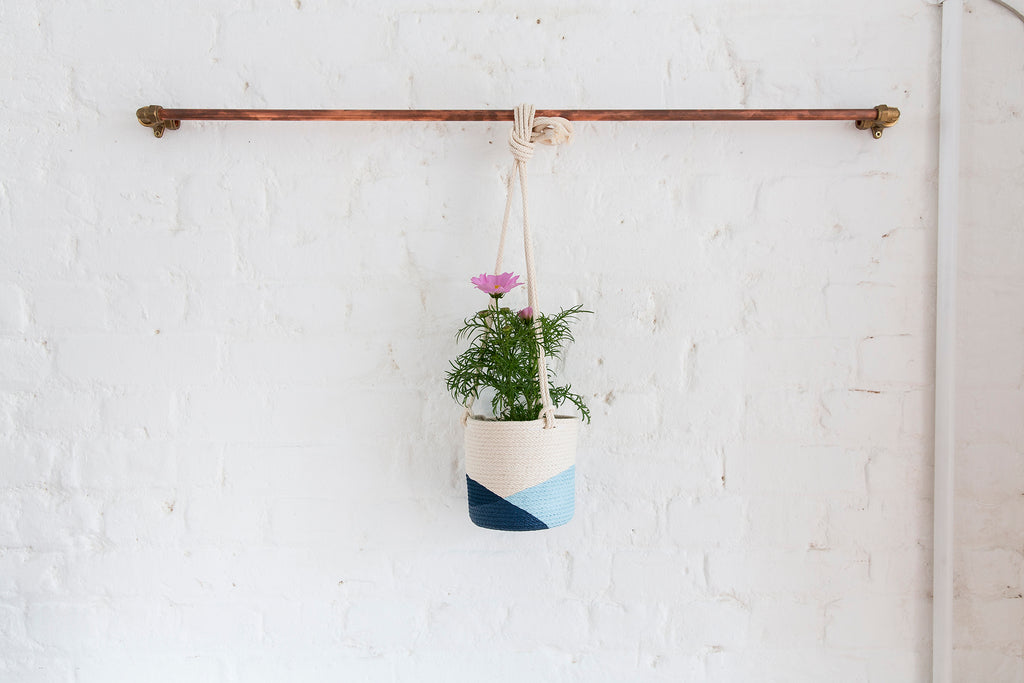 Hanging Rope Planter - Small