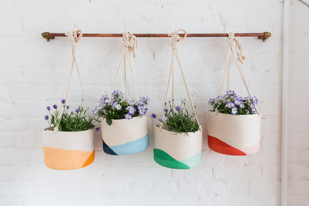 Hanging Rope Planter - Large