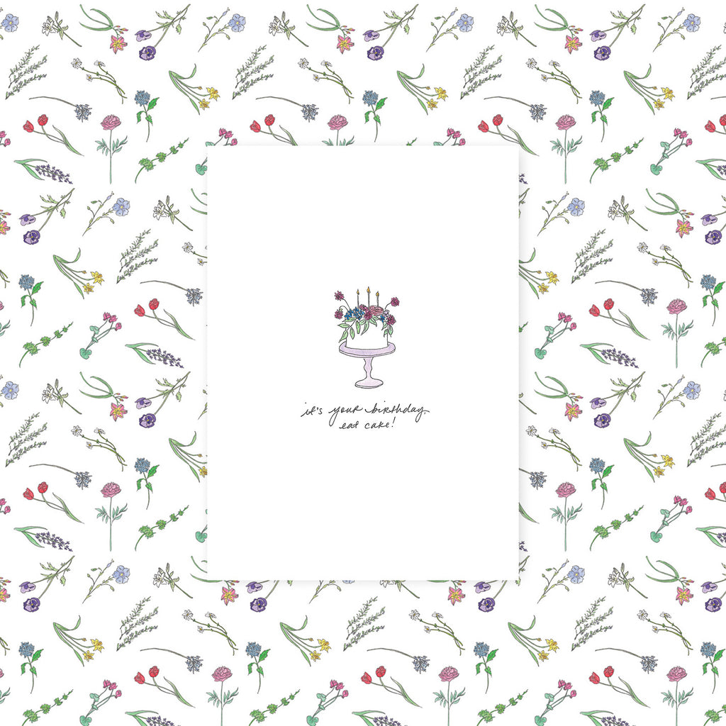 Flower Meaning Greeting Cards Set Of 14 La Tulipe London