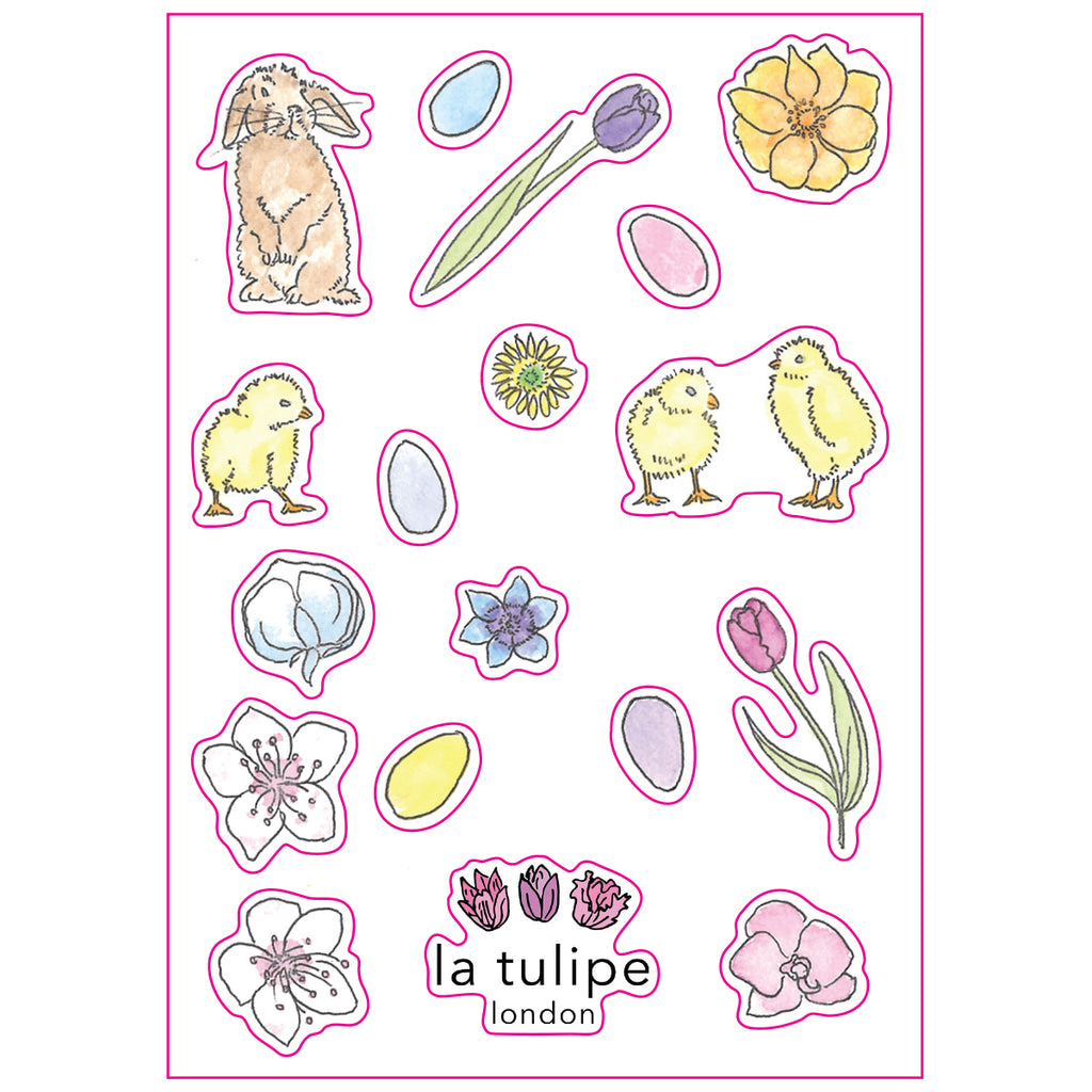 Easter Sticker Sheets - Set of 3