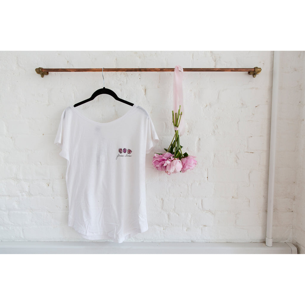 Flower Lover Organic Cotton T-Shirt