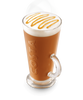 Tassimo Costa Caramel Latte Glass