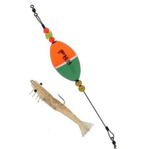 H&H TKO Shrimp Float Rig Oval 1/4 Oz