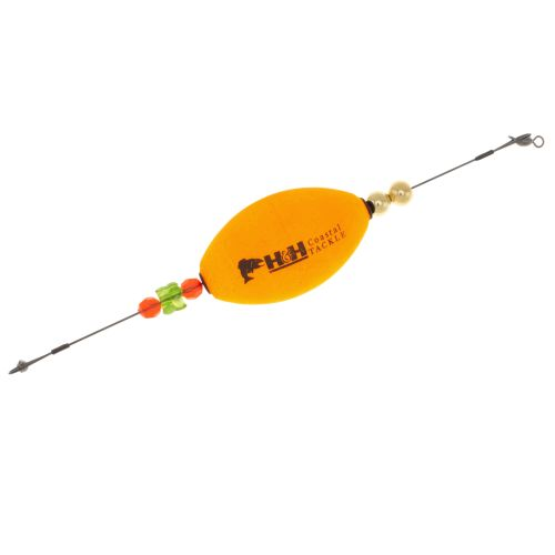 H&H Tackle Titanium TKO Float Weighted Oval Float Orange