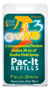 Dead Down Wind Scent Elimination Pac-It Spray 3 Per Pack