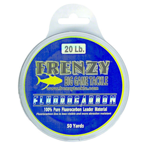 Frenzy Fluorocarbon Leader 20 Lb Clear 50 Yards