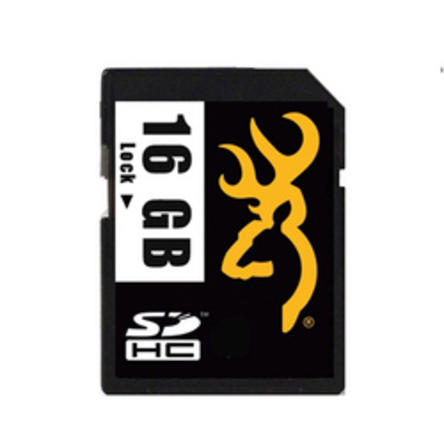 Browning Trail Camera SD Card 16 GB SD Card