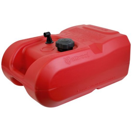 Attwood Portable Gas Tank 6-Gallon EPA Plastic