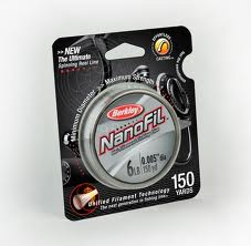 Berkley Nanofil Spinning Line 150 Yard Clear Mist 10Lb