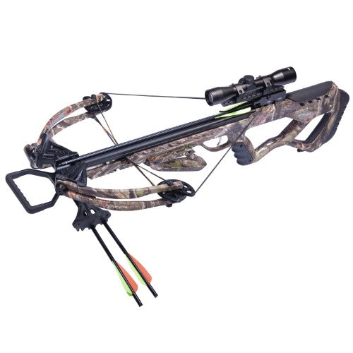 Center Point Crossbow Tormentor Whisper 380 Camo W/4X Scope