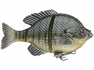 "Savage 3D Line Bluegill Sinking 6"" 3 1/2Oz Dark Gill"