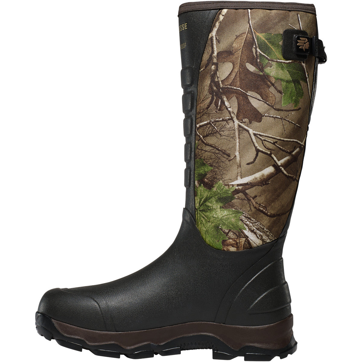 d8c87b335ee LaCrosse 4X Alpha Snake Boots - Realtree Extra Green