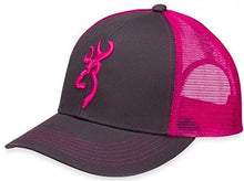 Browning Ladies Cap Flashback Charcoal/Neon