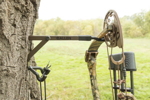 "Allen Gun/Bow Hanger Compact 10"" With Two Accessory Hooks"