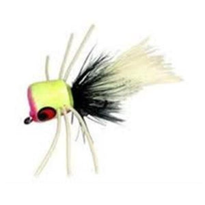 Betts Pop Hop Size 10 White 1 Per Pack Fishing Lure