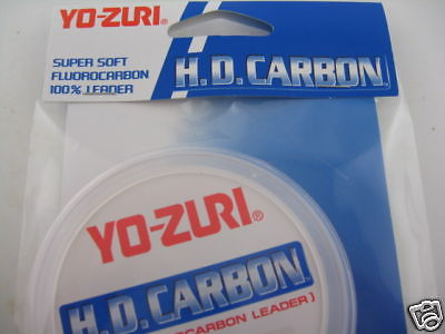 Yozuri HD Fluorocarbon Leader 15Lb 30 Yards