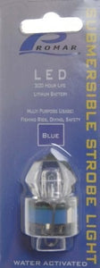 "American Maple Strobe Light Blue 1.5"" Submersible"