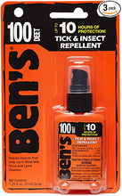 Bens Insect Repellent - 100 MAX Pump 1.25 Oz